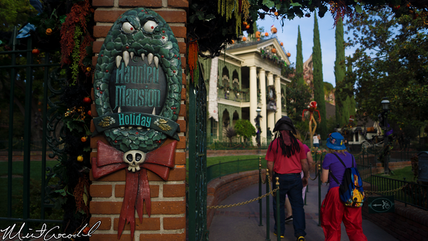 Disneyland Resort, Disneyland, Haunted Mansion, Holiday, 2014