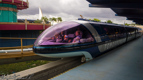 Disneyland Resort, Disneyland, Monorail, Tomorrowland, Movie, Promotion, Wrap