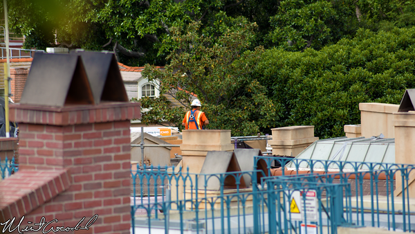 Disneyland Resort, Disneyland, New Orleans Square, Club 33, Rooftop, Refurbishment, Refurb