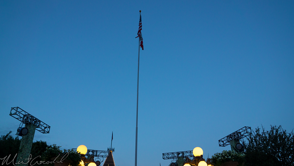 Disneyland Resort, Disneyland60, 60, Anniversary, 24, Hour, Party, Celebration, Kick, Off, Raise, Raising, Flag, Disneyland, Main Street U.S.A.