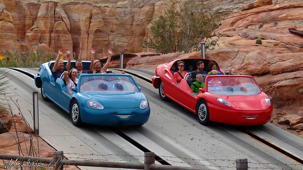 Disneyland Resort, Disney California Adventure, Cars Land, Radiator Springs Racers, Limited, Time, Magic