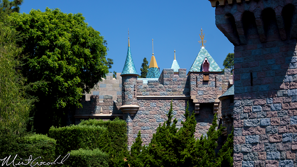 Disneyland Resort, Disneyland, Sleeping Beauty Castle, Fake, Wall