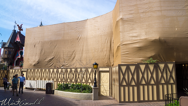 Disneyland Resort, Disneyland, Fantasyland, Pinocchio, Daring, Journey, Facade, Refurbishment, Refurb, Refurbish