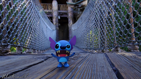 Disneyland Resort, Disneyland, Tarzan's Treehouse, Stitch