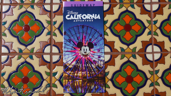 Disneyland Resort, Disney California Adventure, Guide Map
