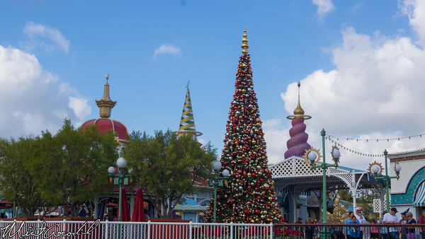 Disneyland Resort, Disney California Adventure, Paradise Pier, Christmas Time, Christmas, 2014