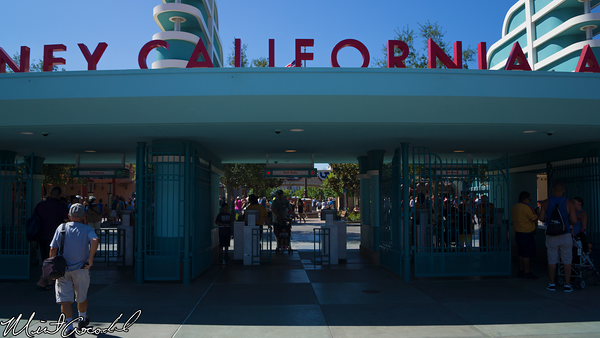 Disneyland Resort, Disney California Adventure, Buena Vista Street, Main Entrance
