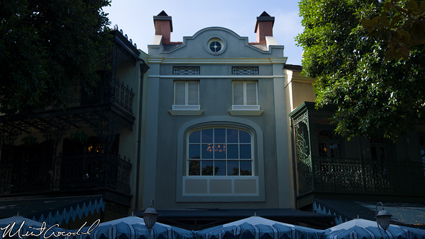 Disneyland Resort, Disneyland, New Orleans Square, Club 33, Window