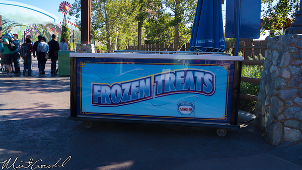 Disneyland Resort, Disney California Adventure, Outdoor, Vending, Cart, Frozen, Treats