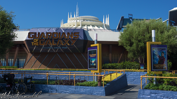 Disneyland Resort, Disneyland, Magic Eye Theater, Guardians of the Galaxy