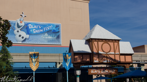 Disneyland Resort, Olaf's, Snow, Fest, Disney California Adventure, Frozen, Fun