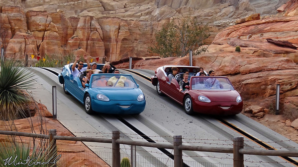 Disneyland Resort, Disney California Adventure, Cars Land, Radiator Springs Racers, Nature