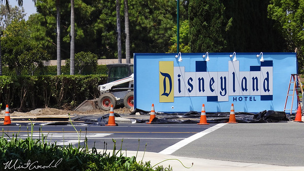 Disneyland Resort, Disneyland Hotel, Entrance, Marquee