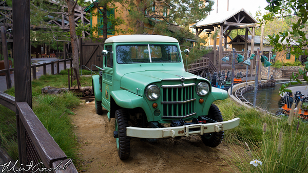 Disneyland Resort, Disney California Adventure, Grizzly River Run, Truck