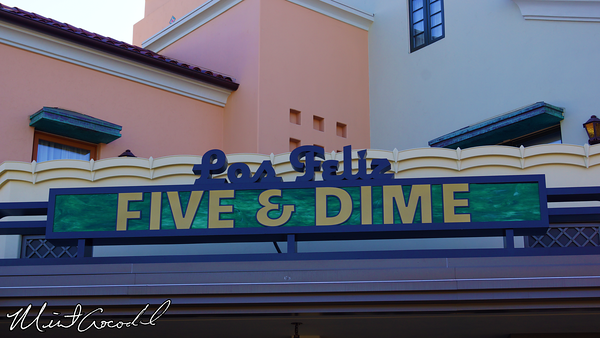 Disneyland Resort, Disney California Adventure, Buena Vista Street, Five and Dime