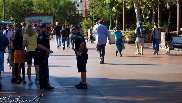 Disneyland Resort, Disney California Adventure, Anaheim, Police