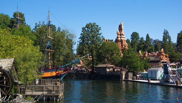 Disneyland Resort, Disneyland, Mark, Twain, Columbia, Frontierland