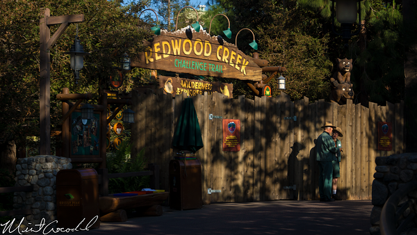 Disneyland Resort, Disney California Adventure, Redwood Creek Challenge Trail, Refurbishment, Refurb