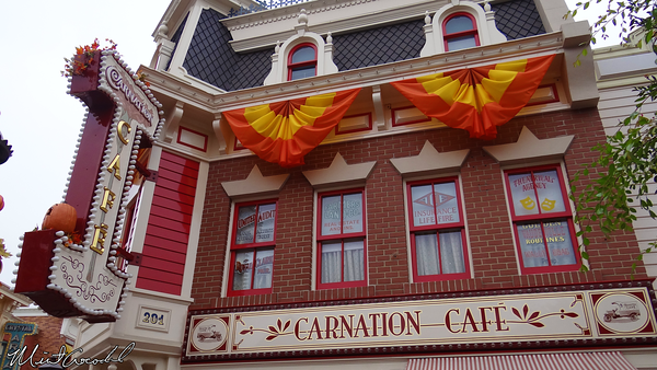 Disneyland Resort, Disneyland, Main Street U.S.A., Carnation Cafe