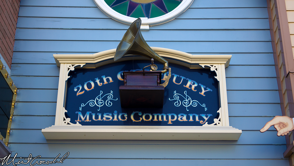 Disneyland Resort, Disneyland, Main Street U.S.A., 20th Century Music Company, Pin, Trading