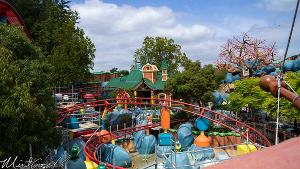 Disneyland Resort, Disneyland, Toon Town, Gadget's Go Coaster, Refurbishment, Refurb