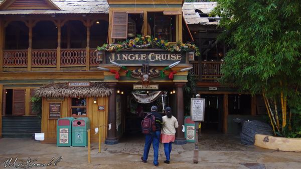 Disneyland Resort, Disneyland, Adventureland, Jungle Cruise, Jingle Cruise, Christmas, Christmas Time