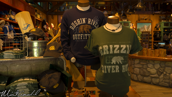 Disneyland Resort, Disney California Adventure, Grizzly River Run, Merchandise
