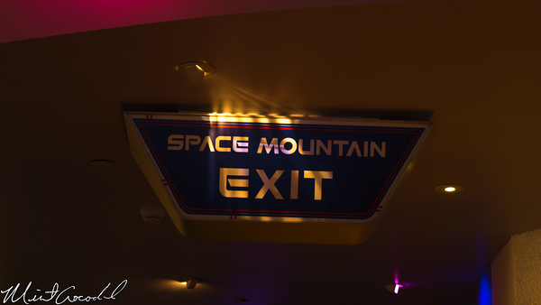 Disneyland Resort, Disneyland, Space Mountain, Exit