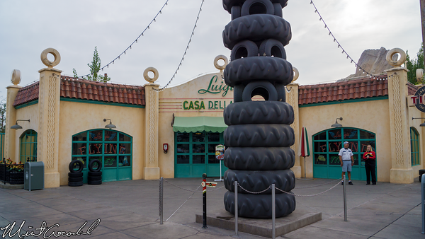 Disneyland Resort, Disney California Adventure, Cars Land, Luigi's, Flying, Tires, Refurbishment, Refurbish, Refurb