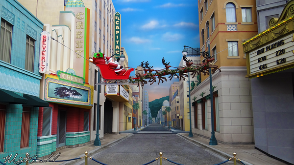 Disneyland Resort, Disney California Adventure, Hollywoodland, Christmas, Christmas Time