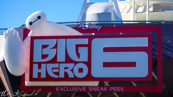 Disneyland Resort, Disneyland, Tomorrowland, Magic Eye Theater, Big Hero 6, Six, Sneak Peek