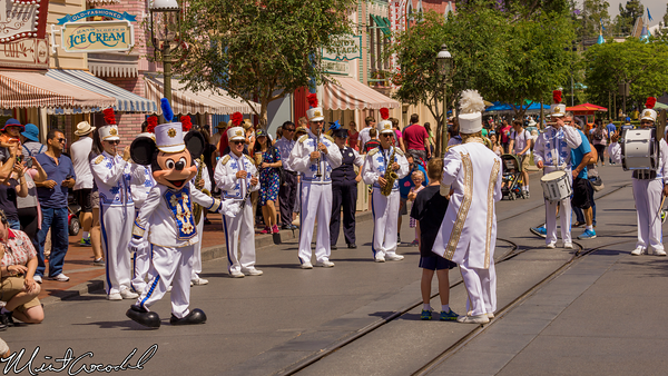 Disneyland Resort, Disneyland, Main Street U.S.A., Mickey, Mouse, Marching, Band