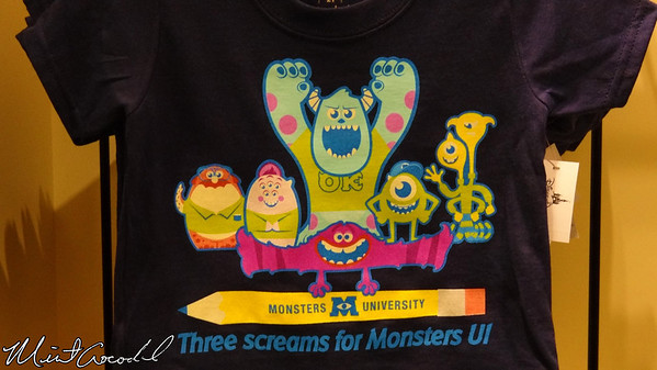 Disneyland Resort, MU, Monsters University