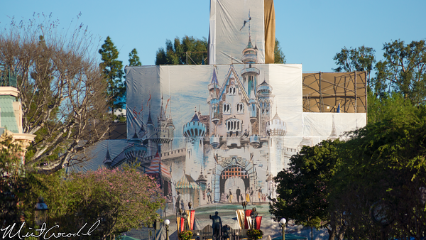 Disneyland Resort,, Disneyland, Main Street U.S.A., Sleeping Beauty Castle, Refurbishment, Refurbish, Refurb, Concept, Art, Disneyland60