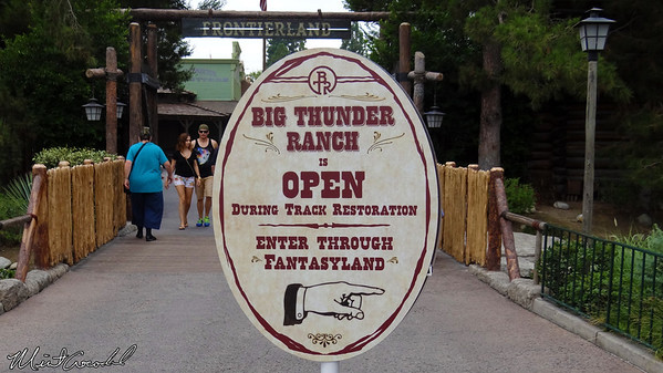 Disneyland Resort, Disneyland, Frontierland, Big Thunder Mountain Railroad, Refurbishment, Refurb