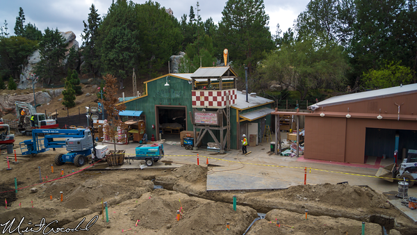 Disneyland Resort, Disneyland, Monorail, Disney California Adventure, Condor, Flats, Grizzly, Peak, Airfield, Construction, Refurbishment, Refurbish, Refurb