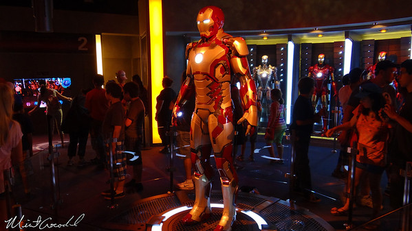 Disneyland Resort, Disneyland, Innoventions, Iron Man