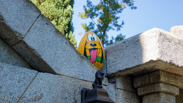 Disneyland Resort, Disneyland, Easter, Egg, Hunt, Eggstravaganza, Haunted Mansion, Exit, Pluto