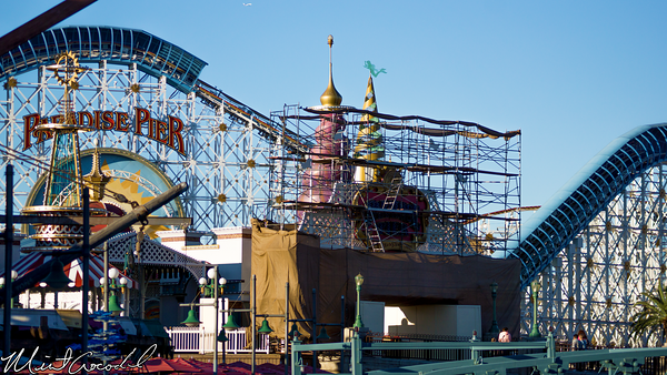 Disneyland Resort, Disney California Adventure, Paradise, Pier, Sign, Refurbishment, Refurbish, Refurb, Fun, In, Sun