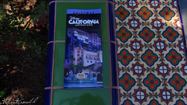 Disneyland Resort, Disney California Adventure, Guide Map, Halloween Time