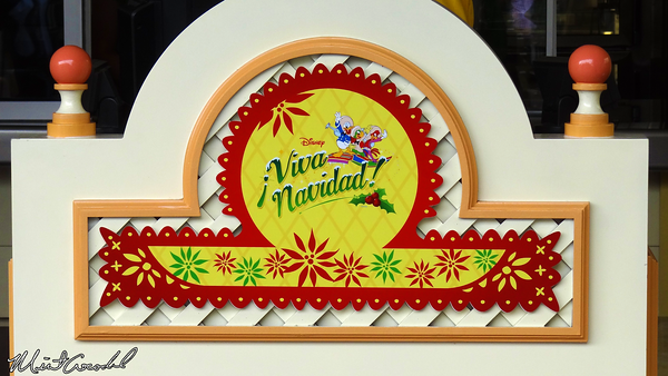Disneyland Resort, Disney California Adventure, Paradise Pier, Paradise Garden, Viva Navidad, Three Caballeros, Street Party