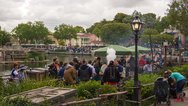Disneyland Resort, Disneyland60, 60, Anniversary, 24, Hour, Party, Celebration, Kick, Off, Disneyland, Smoking, Smoke, Section