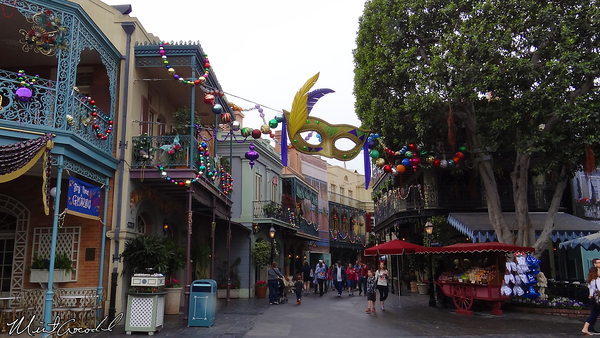 Disneyland Resort, Disneyland, New Orleans Square, Mardi Gras