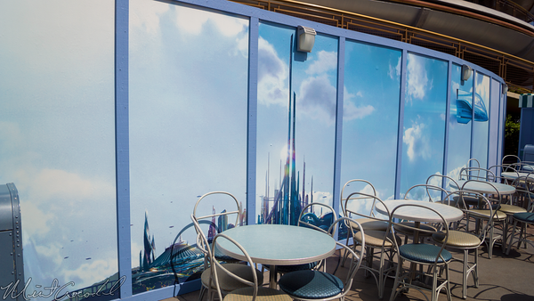 Disneyland Resort, Disneyland, Tomorrowland, Movie, Innoventions, Refurbishment, Refurbish, Refurb, Wall
