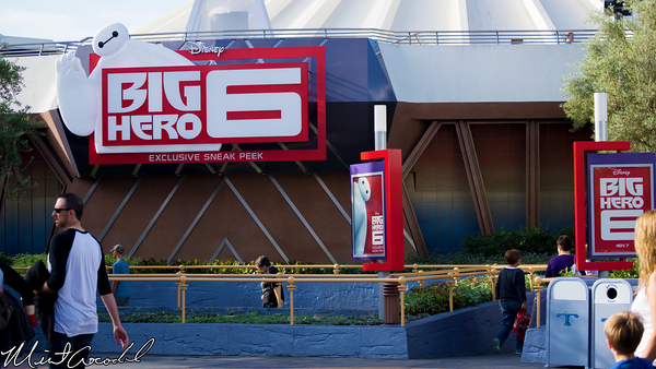Disneyland Resort, Disneyland, Magic Eye Theater, Big Hero 6