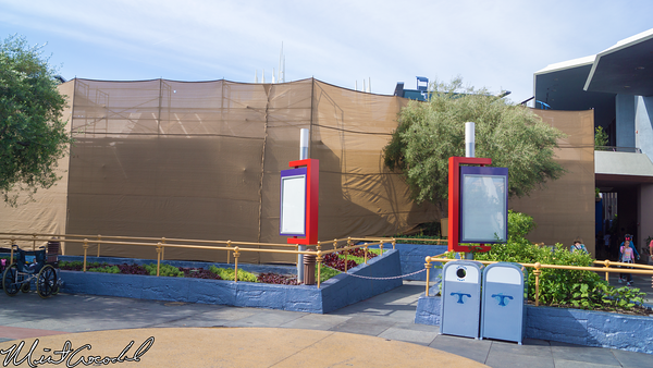 Disneyland Resort, Disneyland, Tomorrowland, Theater, Magic, Eye, Refurbishment, Refurb, Refurbish