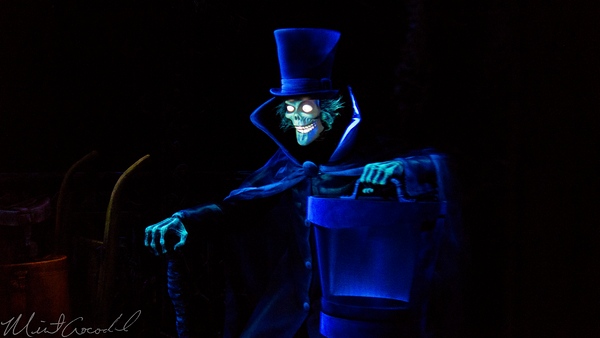 Disneyland Resort, Disneyland, New Orleans Square, Haunted, Mansion, Hatbox, Ghost, Disneyland60