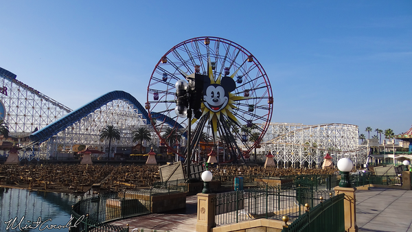 Disneyland Resort, Disney California Adventure, Paradise Pier, World of Color, Refurbishment, Refurb