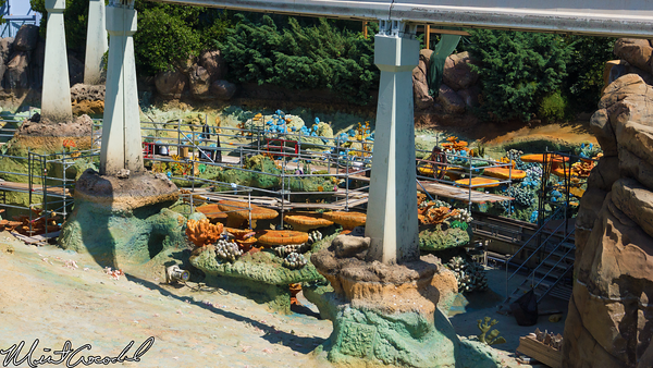 Disneyland Resort, Disneyland Resort, Disneyland, Finding Nemo Submarine Voyage, Refurbish, Refurbishment, Refurb