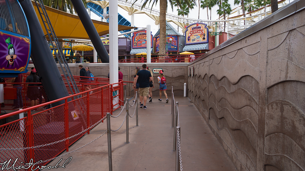 Disneyland Resort, Disney California Adventure, Mickey, Fun, Wheel, Exit, Count, Turnstile